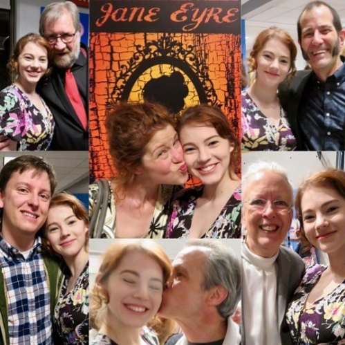 Pictures from opening night of @pictclassictheatre Jane Eyre. (Show runs through the rest of the month.)
