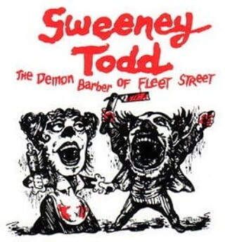 The girl will be Mrs Lovett in Stage Right's Sweeney Todd at the end of July. #3week #musical #theatre #summer #camp