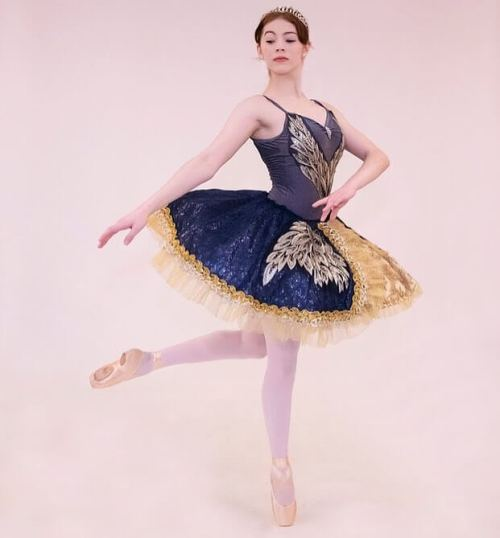 The girl is the Dew Drop Fairy in @laurelballetperformingco The Nutcracker Saturday evening. Live orchestra! @westmorelandsymphony