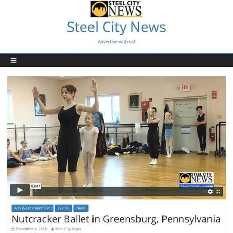 Carolyn featured on Steel City News for The Nutcracker