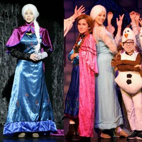 Frozen opens tonight. (All shows have been sold out for over a month.)
