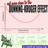 "Fake Graph: The Actual ""Dunning-Kruger Effect"" Is NOTHING Like I Thought It Was"