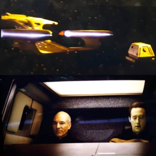 The reflection should show what's about 60 degrees above the shuttle, not what's in front of it. #startrek #tng jerz.setonhill.edu/the-devils-due