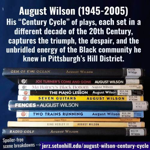 I really enjoyed powering through Wilson's Century Cycle during winter term.