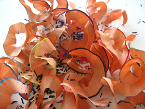 Pencil Shavings. Image courtesy of stock.xchng®