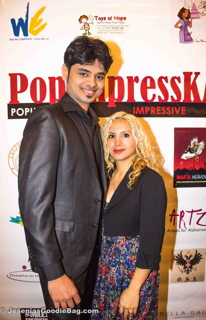 Prakash Patil (Leo Mono Fashion House Model) with Jesenia (JGB Editor)