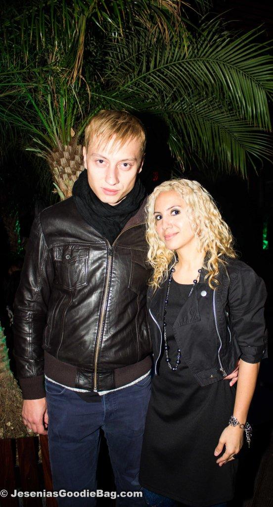 Serge Bulat (Model) with Jesenia (JGB Editor)