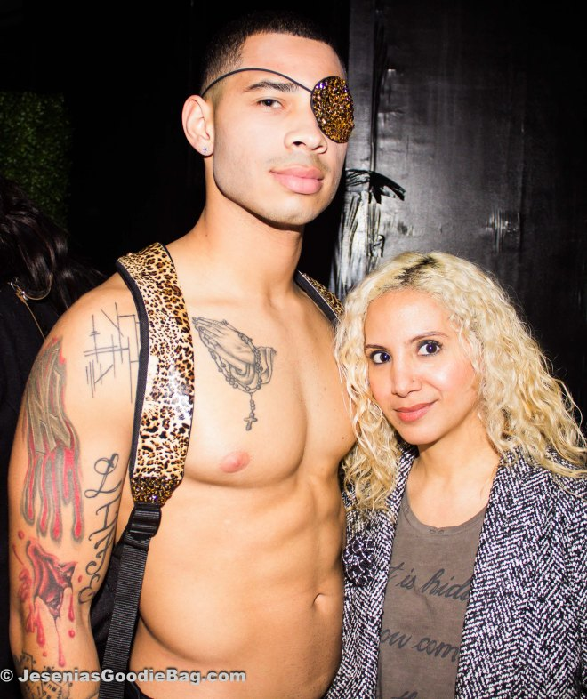 Brian Bunn (model) with Jesenia (JGB Editor)