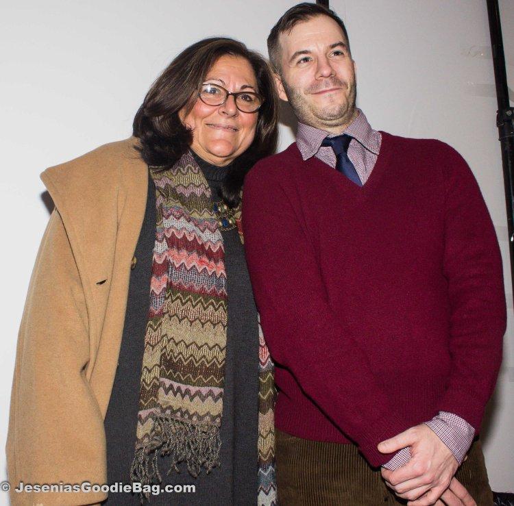 Fern Mallis (Fern Mallis LLC) with Marlon Gobel (Designer)