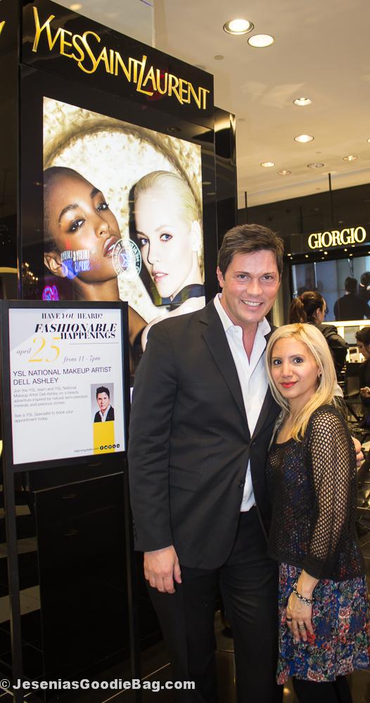 Dell Ashley (YSL) with Jesenia (JGB Editor)