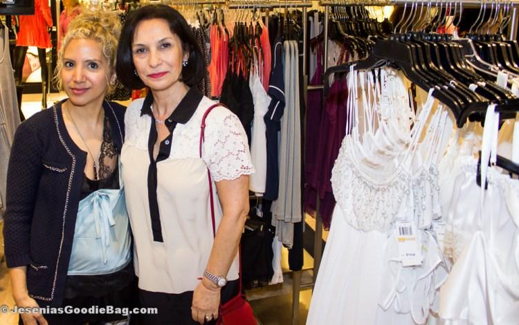 Jesenia (JGB Editor) with Flora Nikrooz