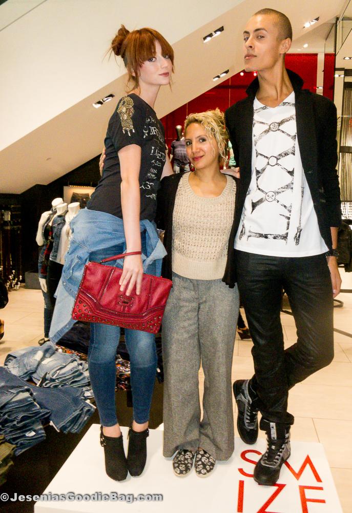 Nina (ANTM), Jesenia (JGB Editor) and Cory (ANTM)