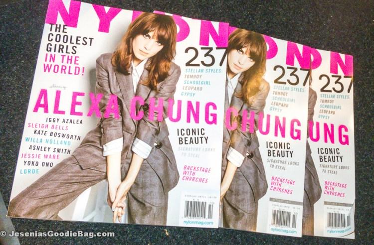 Alexa Chung (Nylon Magazine: October 2013)