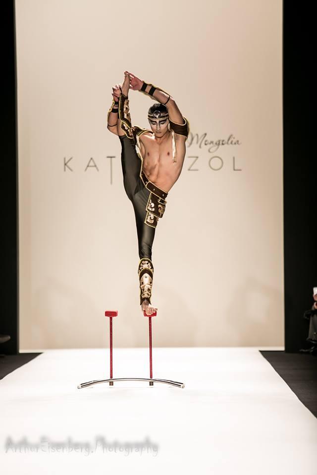 Acrobatic act (Photo by: Arthur Eisenberg Photography)