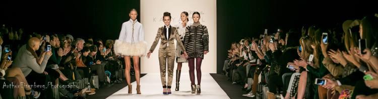 Katya Zol with models (Photo by: Arthur Eisenberg Photography)