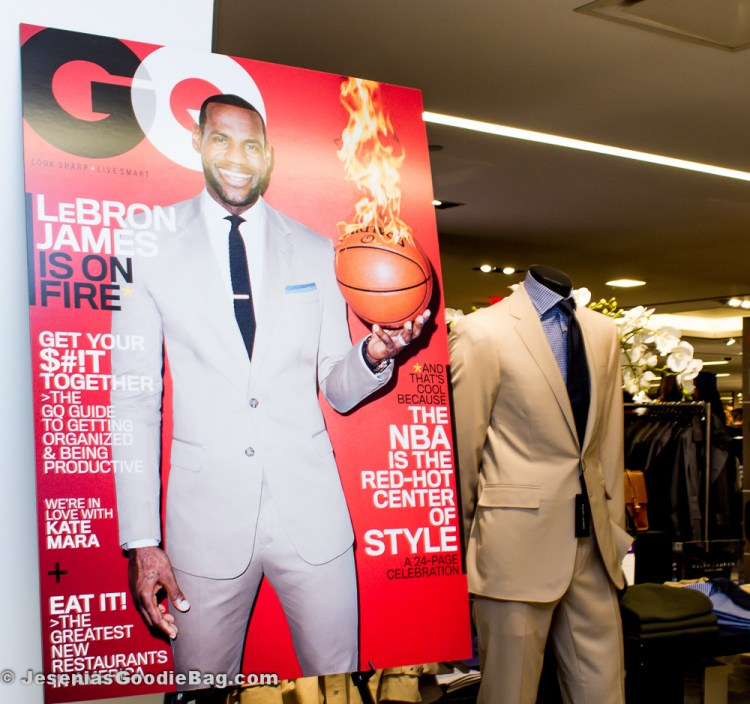 Lebron James for GQ (March 2014)