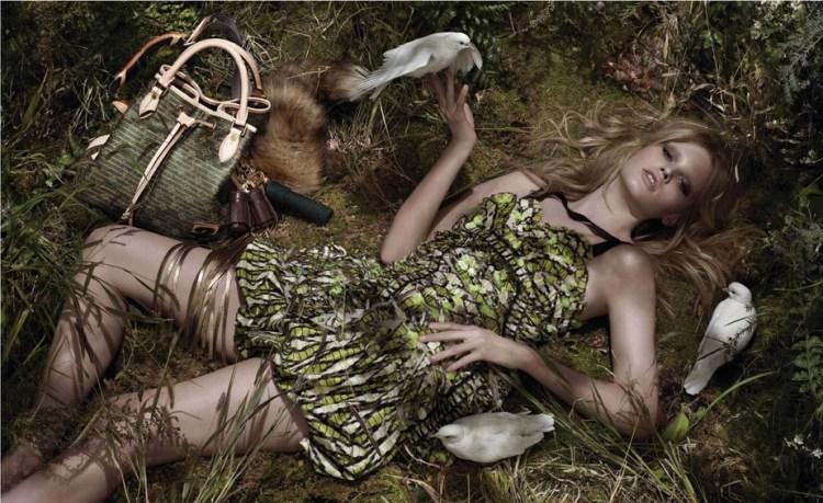 Lara Stone for Louis Vuitton