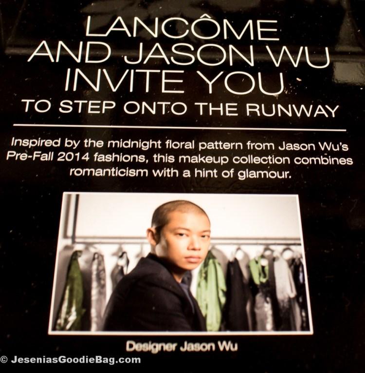 Jason Wu for Lancôme Collection