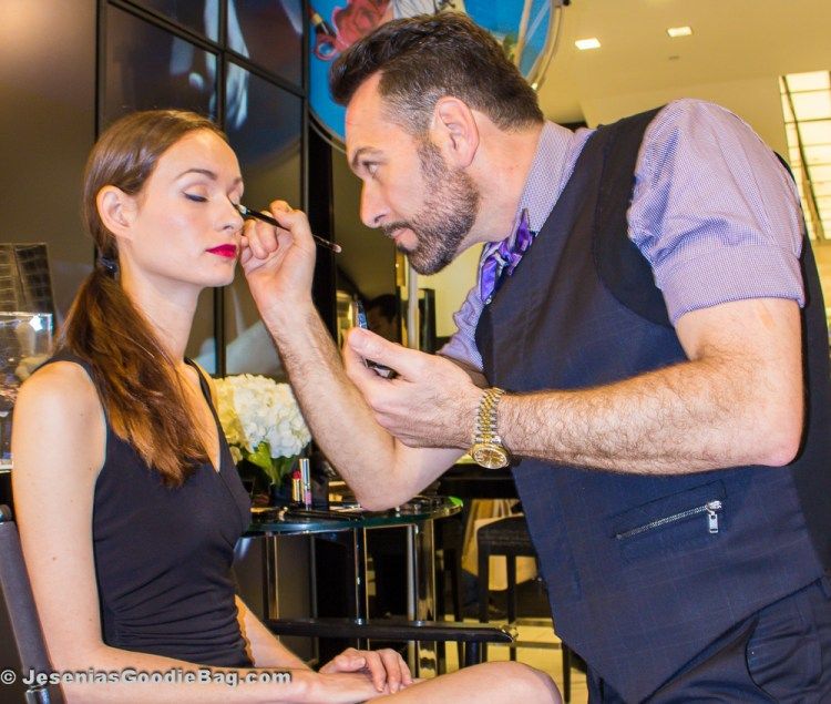 Tarek Abbas with Vogue model