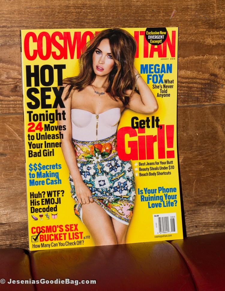 Megan Fox for Cosmopolitan magazine (August 2014)