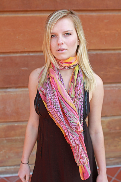 Springtime scarf