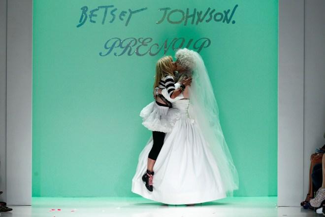Sharon Needles with Betsey Johnson