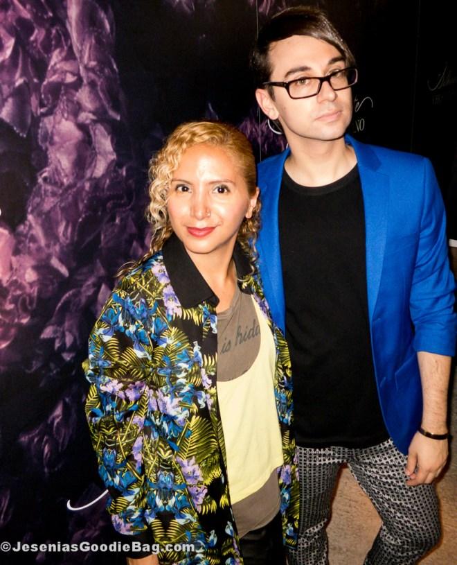 Jesenia (JGB Editor) with Christian Siriano