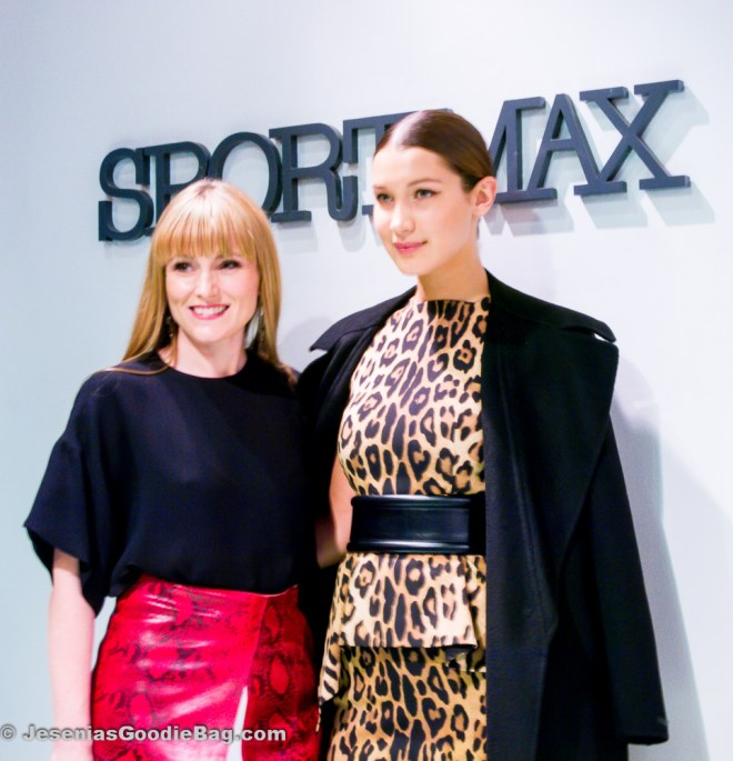 Amy Astely with Bella Hadid (Model)