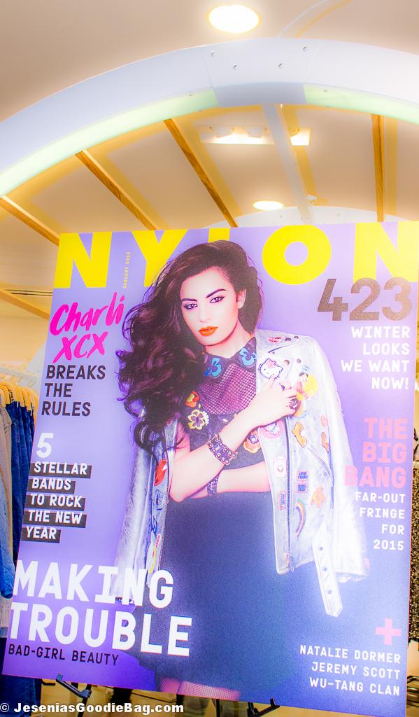 Charli XCX for Nylon Mag - Jan. 2015