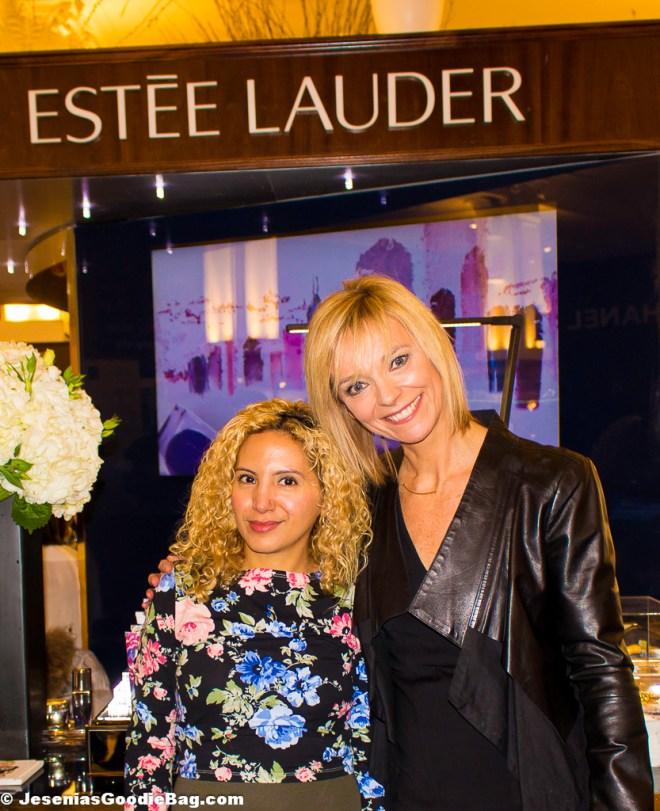 Jesenia (JGB Editor) with Avril Graham (Harper's Bazaar)
