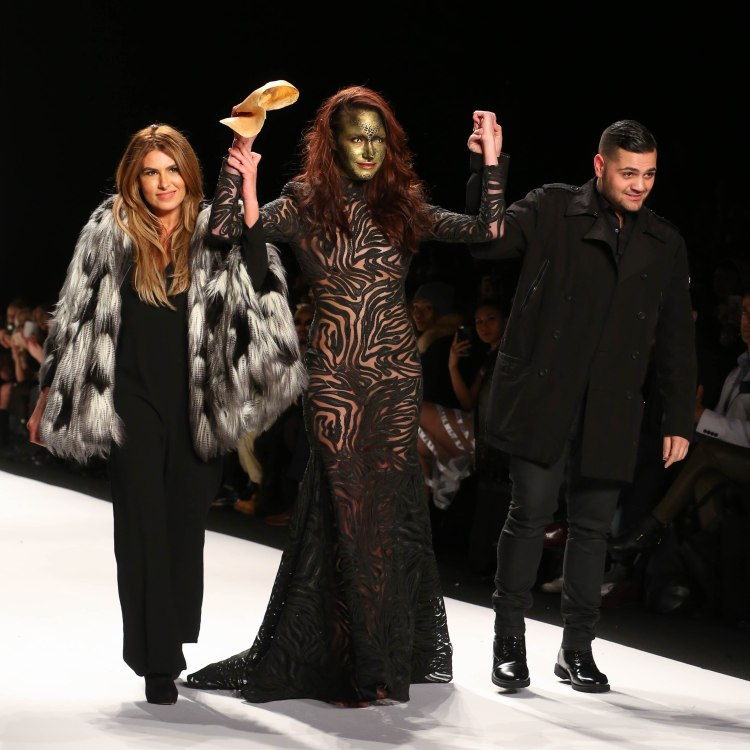 Designers: Stephanie Costello, Michael Costello (With: Model)