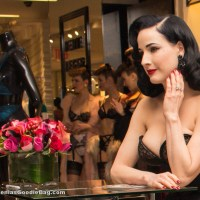 Dita Von Teese – Lingerie Launch Event