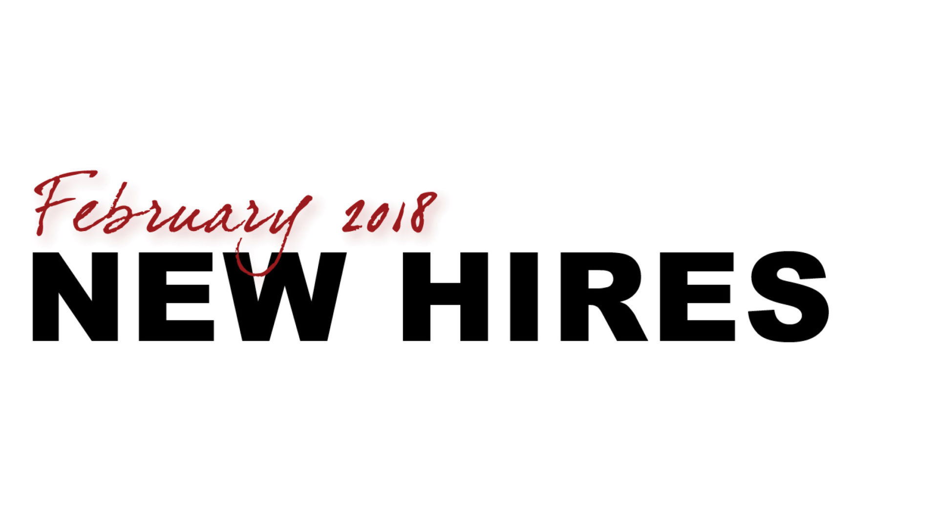 February New Hire Orientation