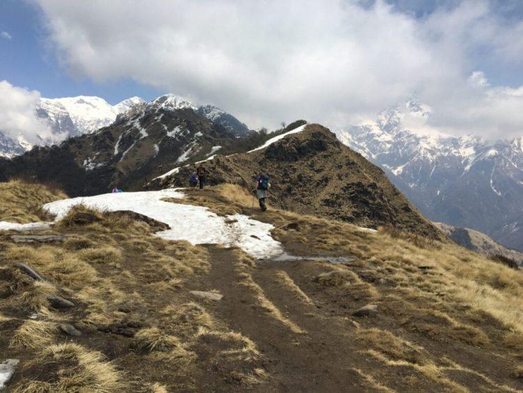 Annapurna skyer og bjerge