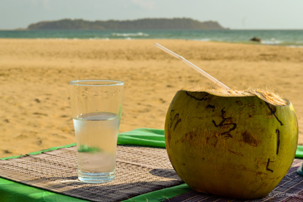 intermittent fasting is not for you - coconut on beach