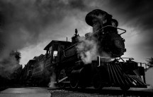 """The old steam train"""