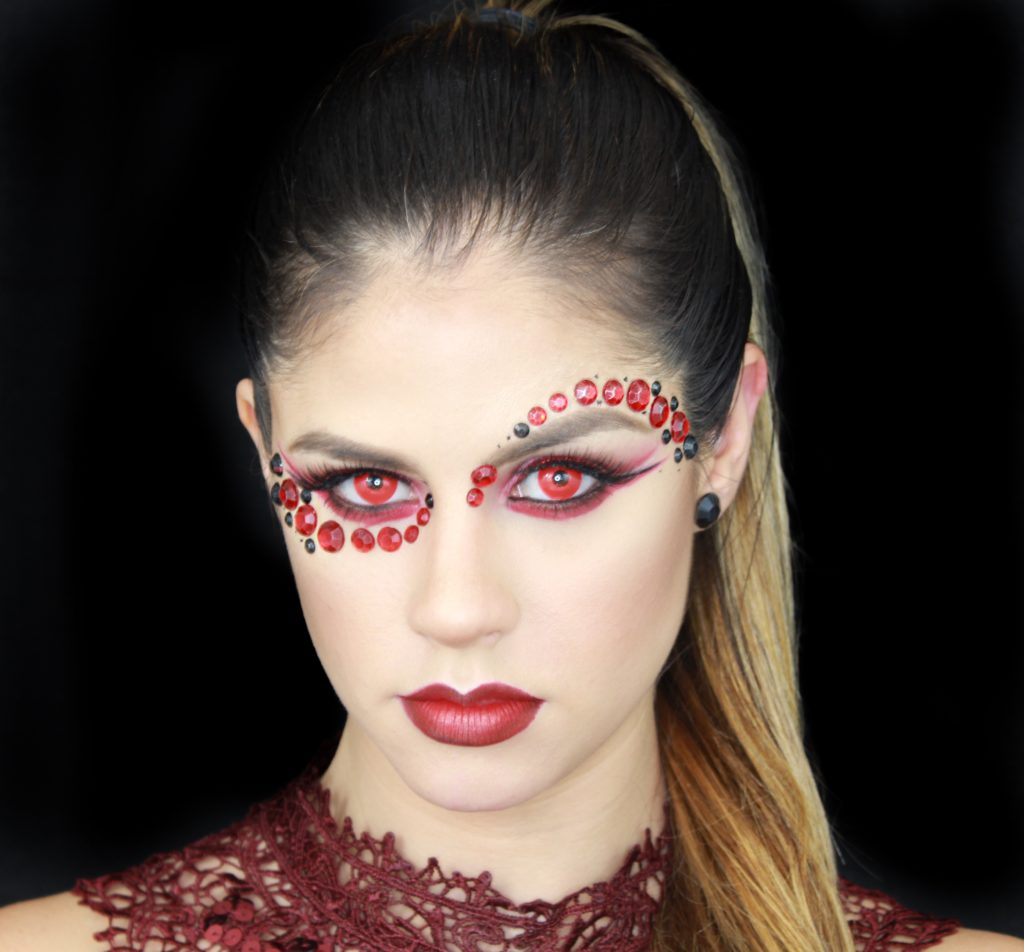 devil halloween makeup jess bonilla