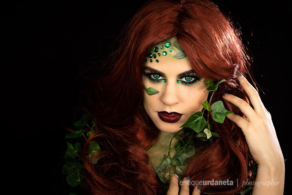 Poison Ivy Halloween Makeup Ideas 2018 Jess Bonilla