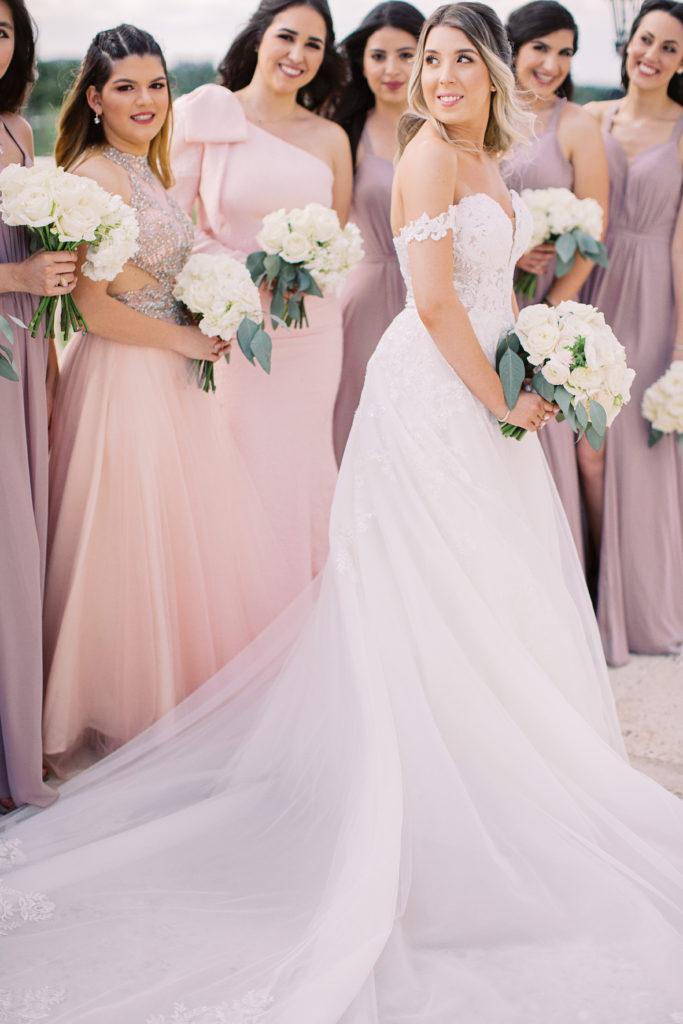 Trump Doral Wedding Jess Bonilla Beauty Team