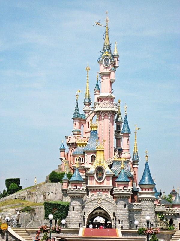Sleeping Beauty Castle Disneyland Paris