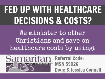Samaritan Ministries--Are you Christian looking for a better healthcare solution? Find out more!