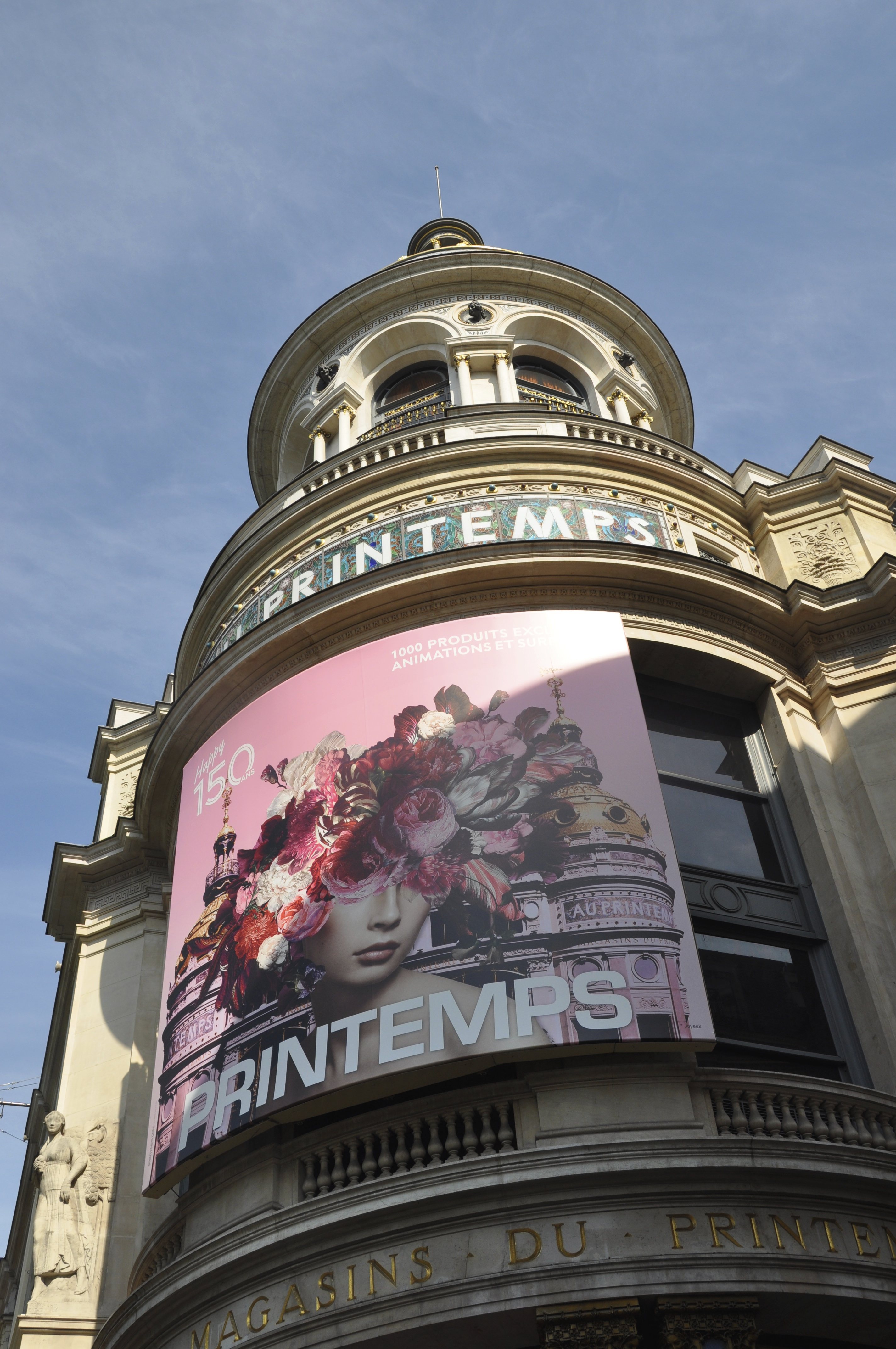 Printemps department store in Paris