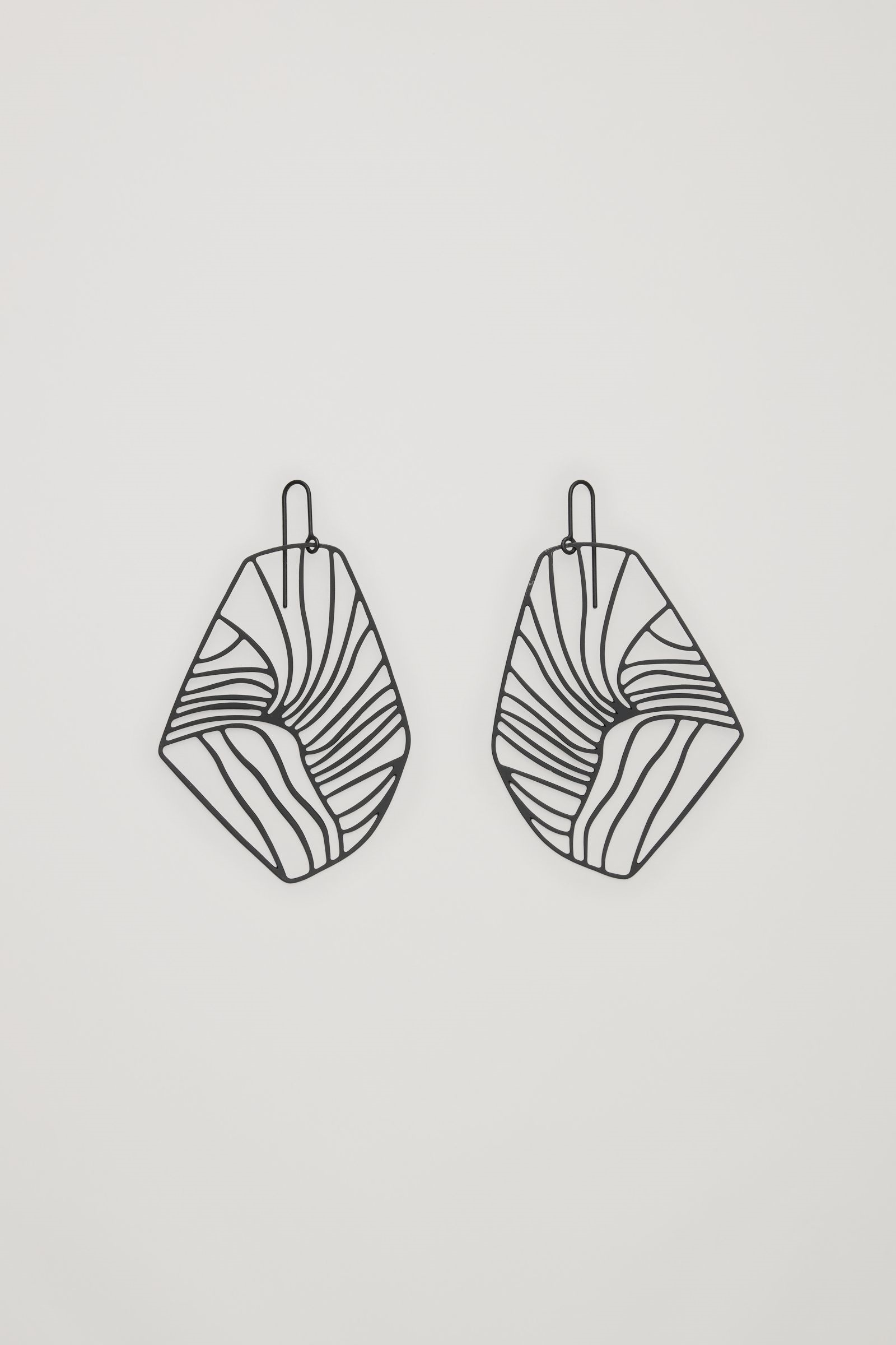 Cos - Abstract Cut Out Earrings - £17