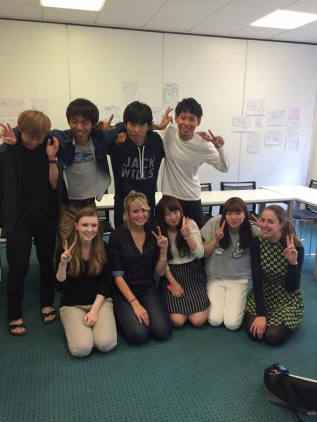 Celta students