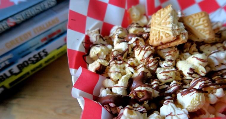 Custard Cream Popcorn