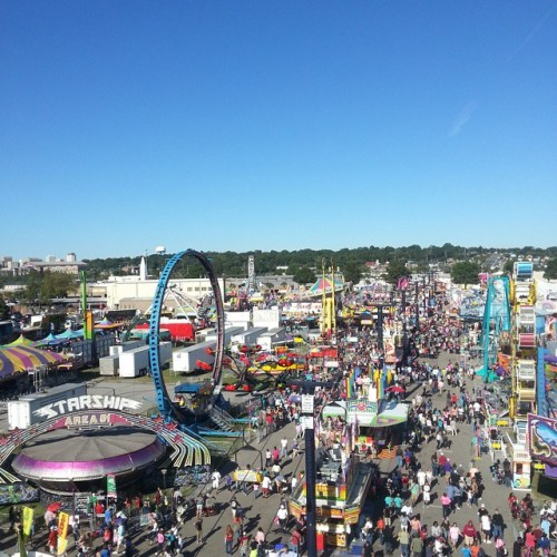 View of the midway.  Cause it's#fair time #shareyouradventure