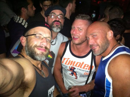 Out at Eastern Bloc