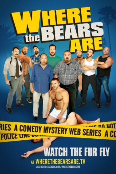 """""""Where the Bears Are"""" poster"""