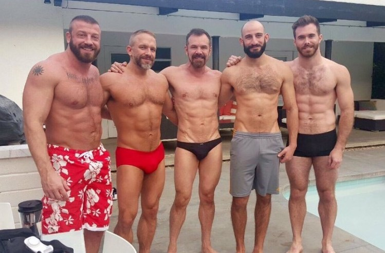 Hunter Marx, Dirk Caber, Max Sargent, Eric Nero, and Matthew Bosch