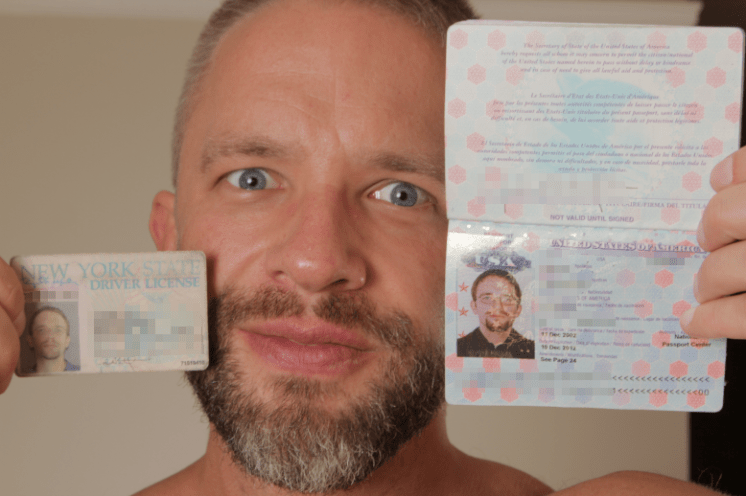 Dirk Caber's ID Photo